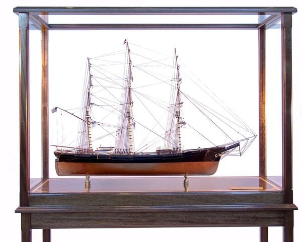 "1019: Model of Clipper Ship ""Sovereign of the Seas"""