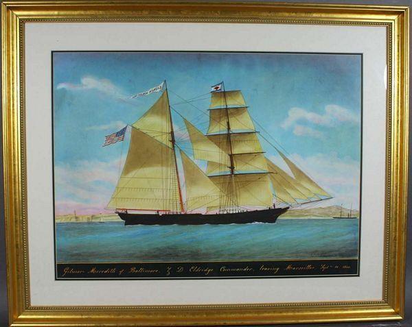 1106A: Pellegrin, Gilmor Meredith, 1860, Hc Print