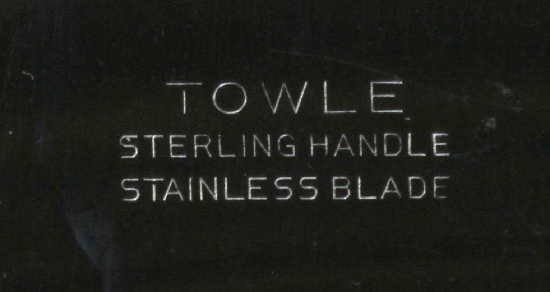 Towle Sterling Flatware Service for Twelve - 9