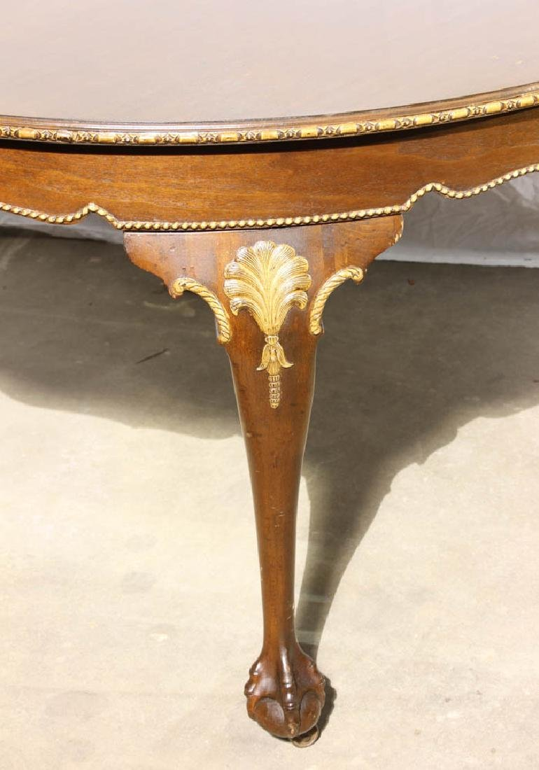 Mahogany Dining Table with Ball and Claw Feet - 2