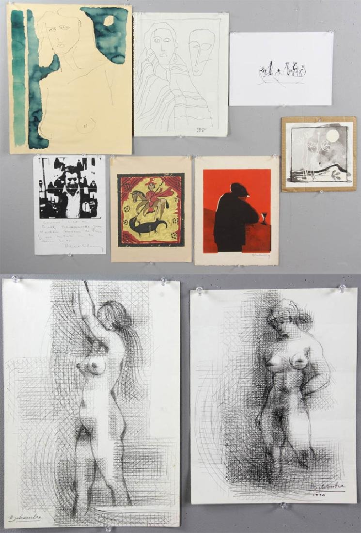 Group of Sessions and Delcambre Drawings