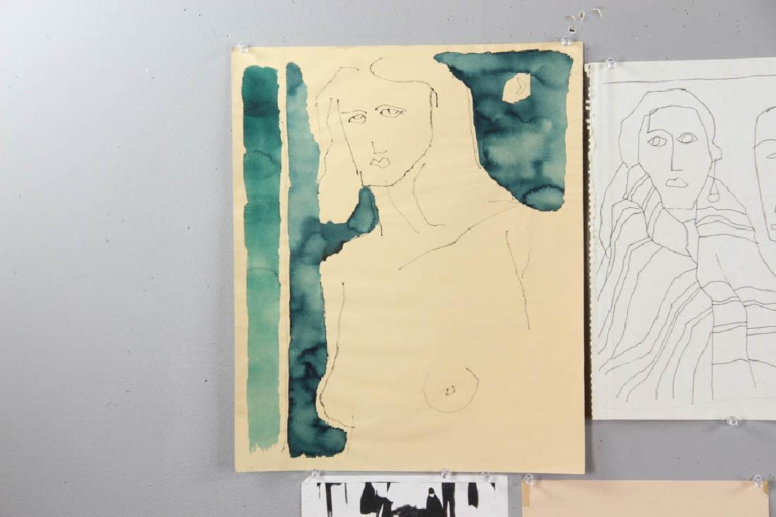 Group of Sessions and Delcambre Drawings - 2