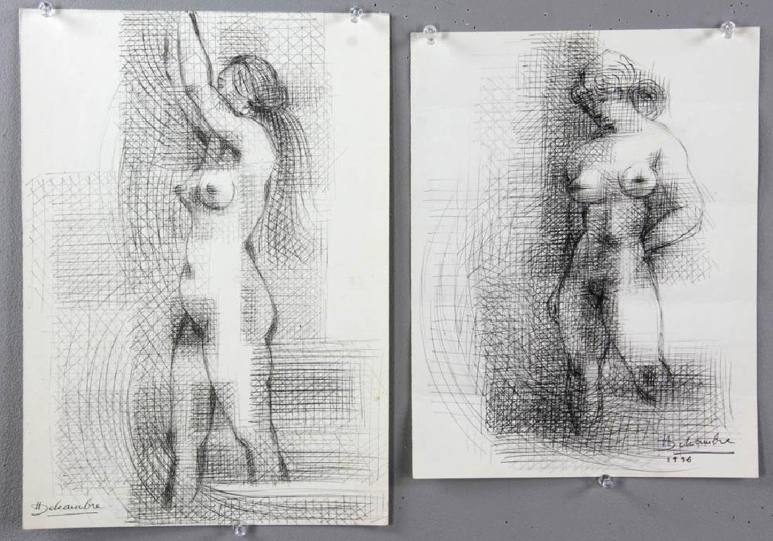 Group of Sessions and Delcambre Drawings - 5