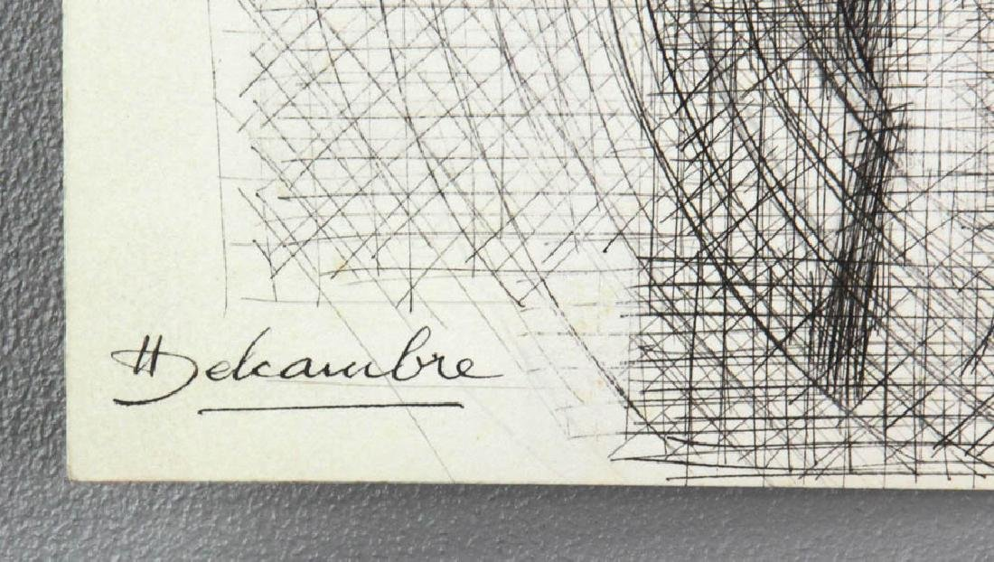 Group of Sessions and Delcambre Drawings - 7