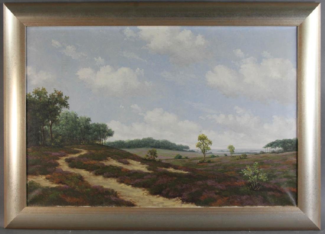Late 19th/Early 20th C Oil on Canvas Landscape