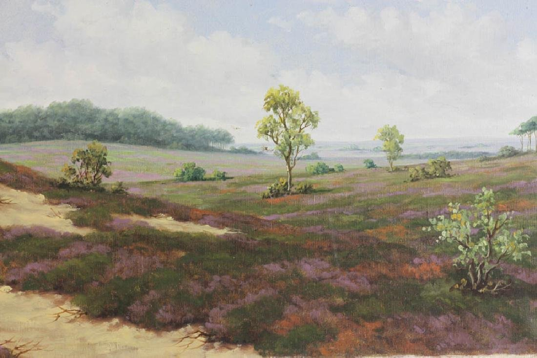 Late 19th/Early 20th C Oil on Canvas Landscape - 4
