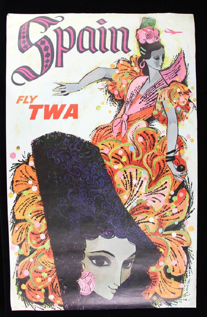 Collection of 11 TWA Travel PostersTravel Posters - 4