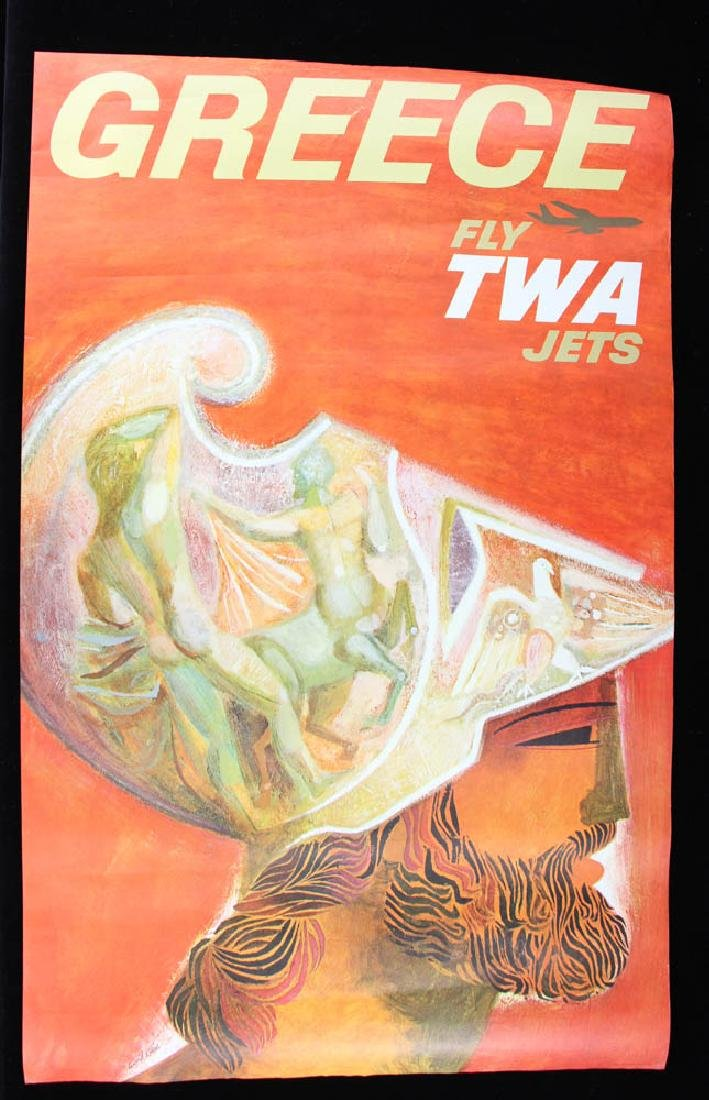 Collection of 11 TWA Travel PostersTravel Posters - 5