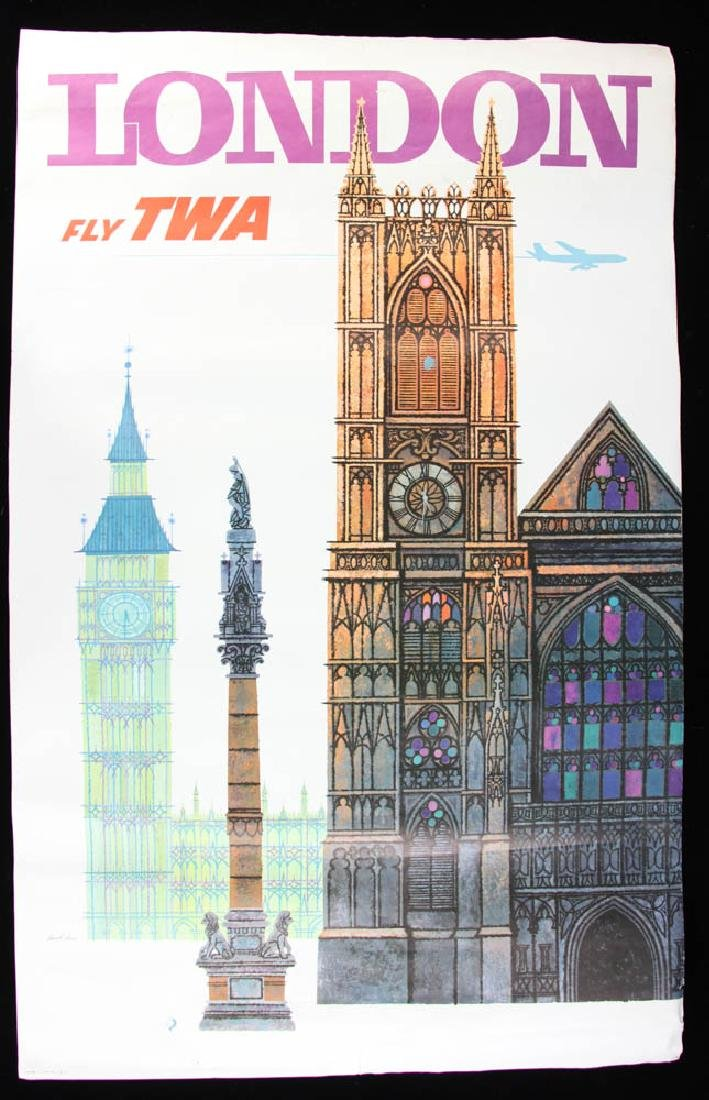 Collection of 11 TWA Travel PostersTravel Posters - 6