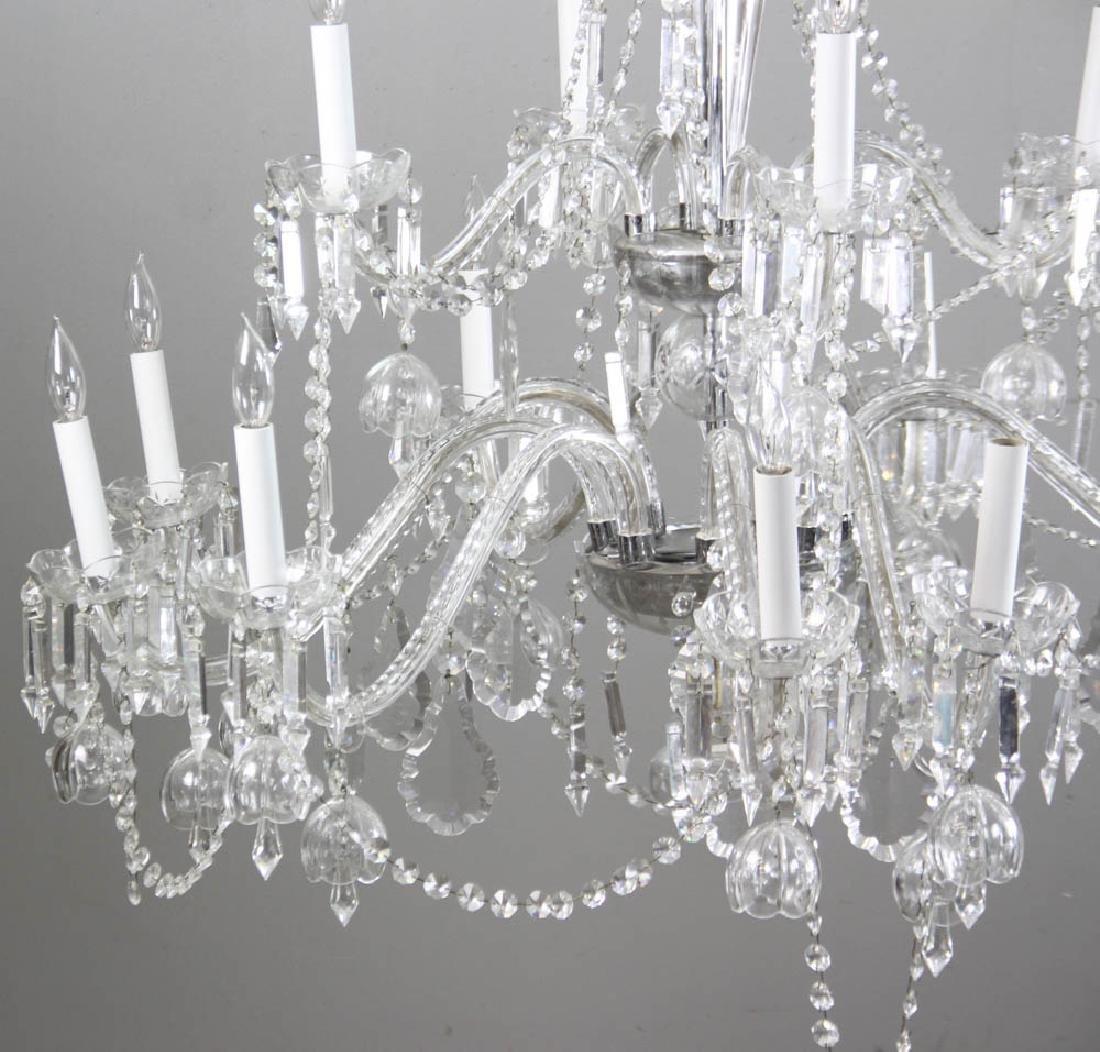 Fine Cut Crystal Chandelier - 2
