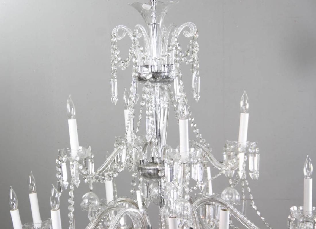 Fine Cut Crystal Chandelier - 3