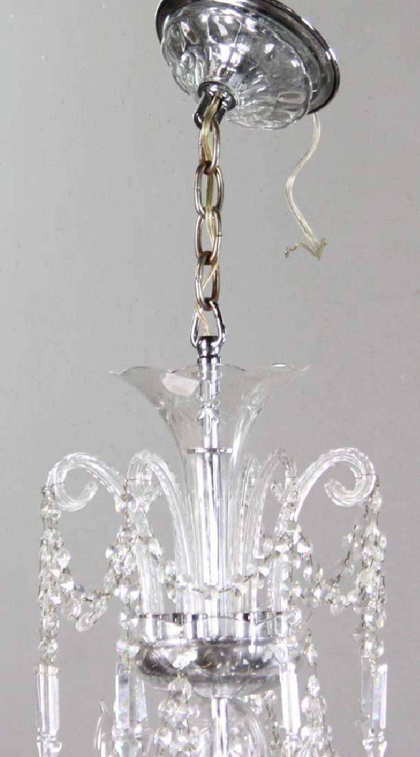 Fine Cut Crystal Chandelier - 4
