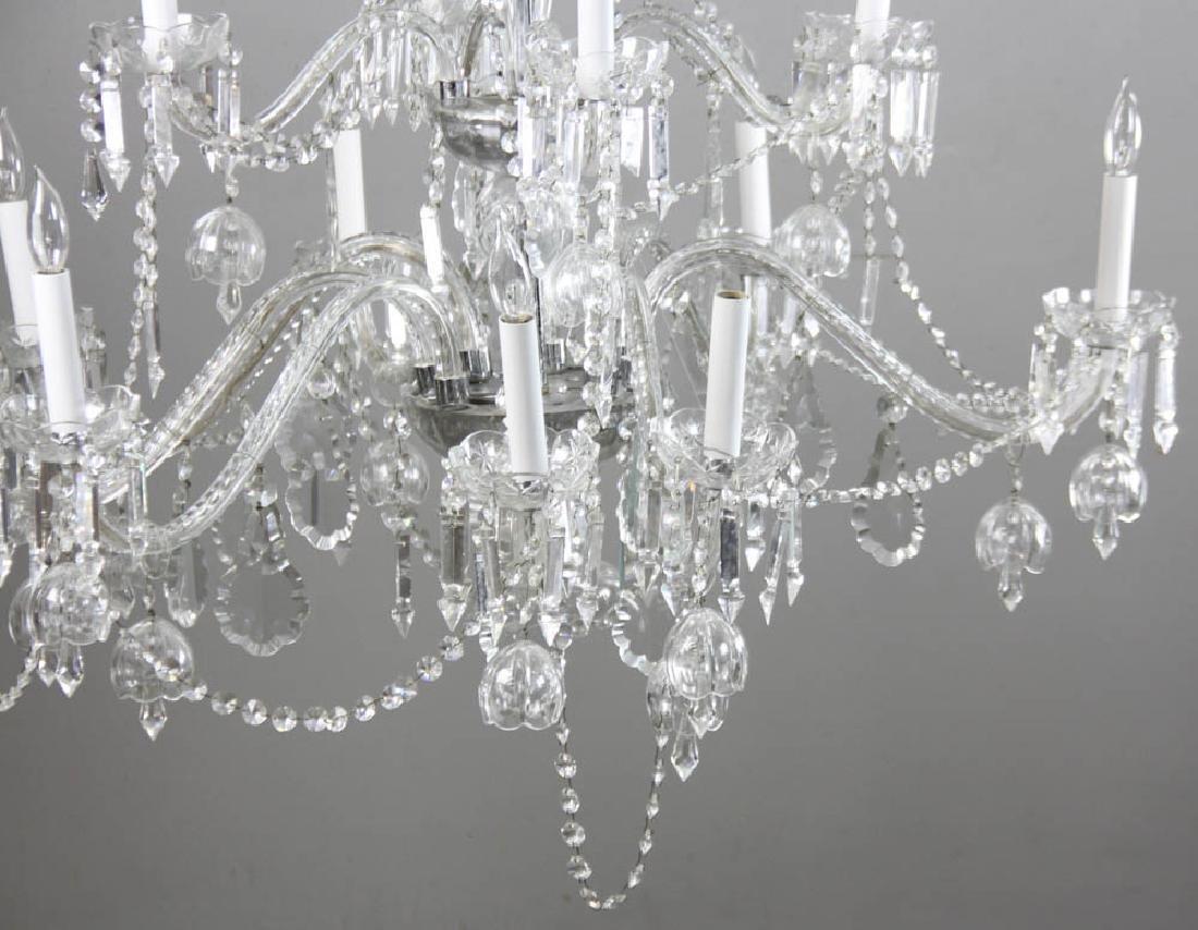 Fine Cut Crystal Chandelier - 5