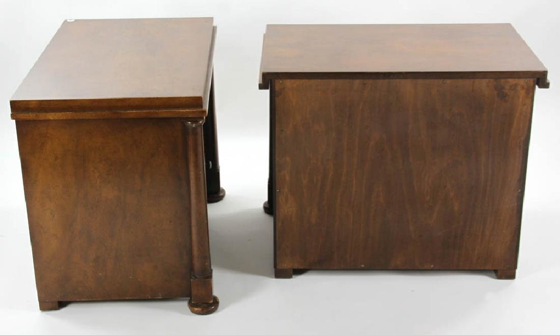 Pair of Biedermeier Style 2-Drawer Chests - 5
