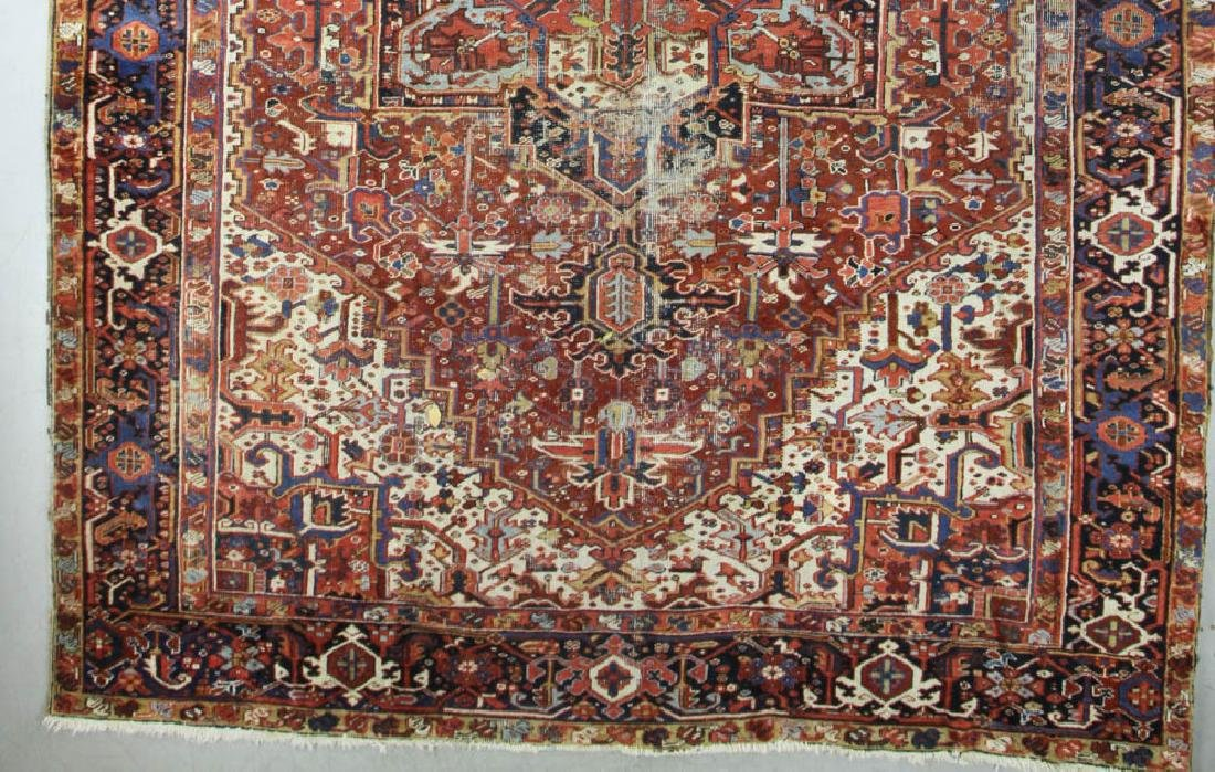 Antique Persian Heriz Rug - 3