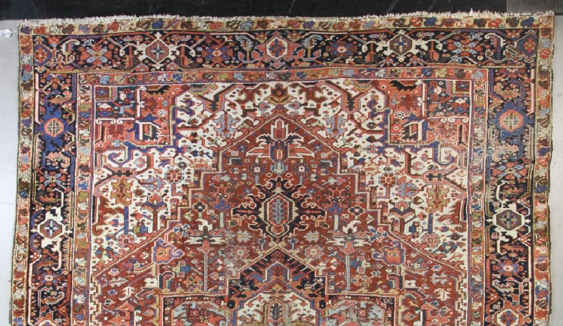Antique Persian Heriz Rug - 4