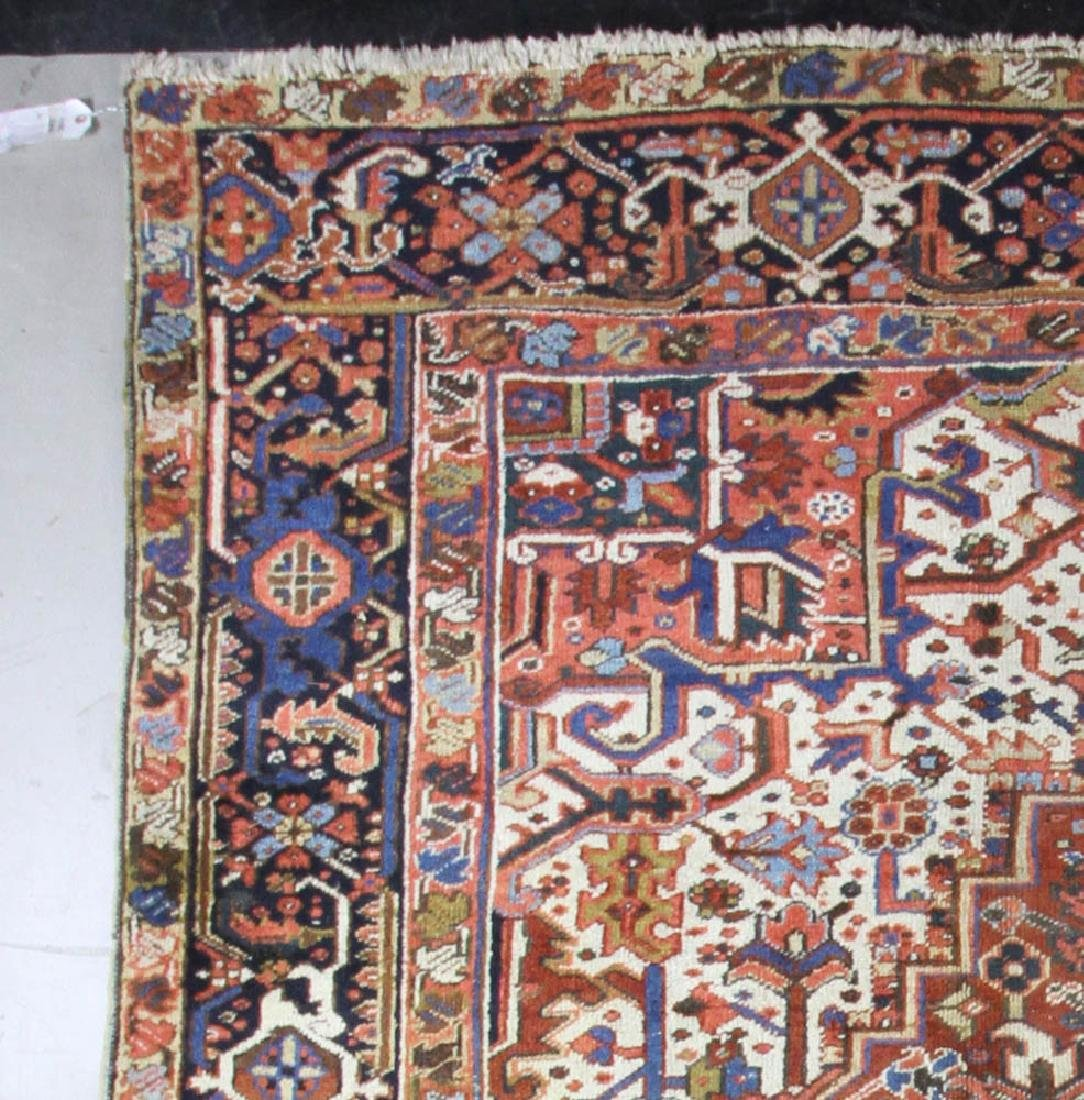 Antique Persian Heriz Rug - 5