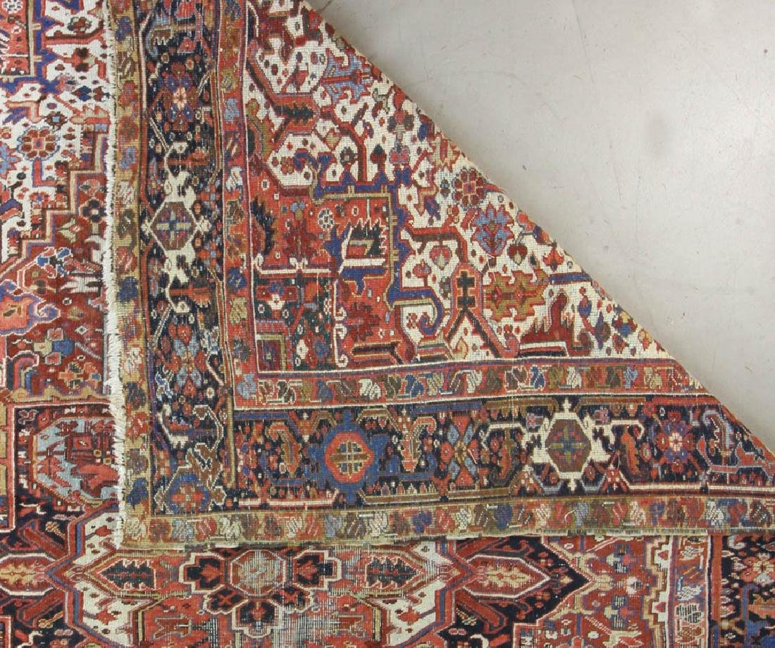 Antique Persian Heriz Rug - 6