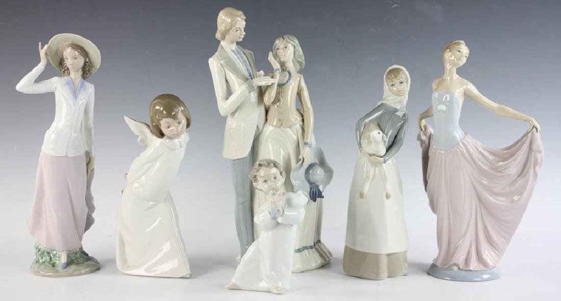Group of 6 Lladro and Rex Figurines