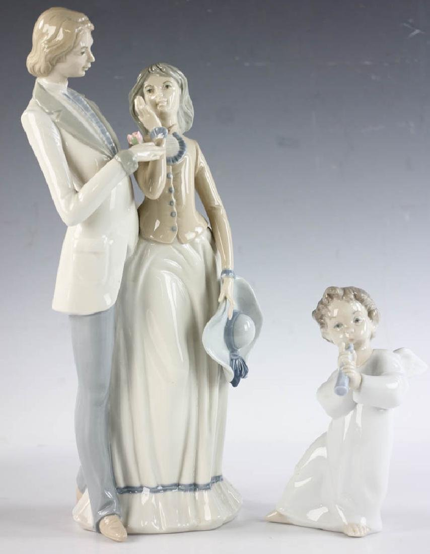 Group of 6 Lladro and Rex Figurines - 4