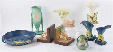 Collection of 29thC. American Art Pottery
