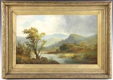 David Johnson Oil on Canvas