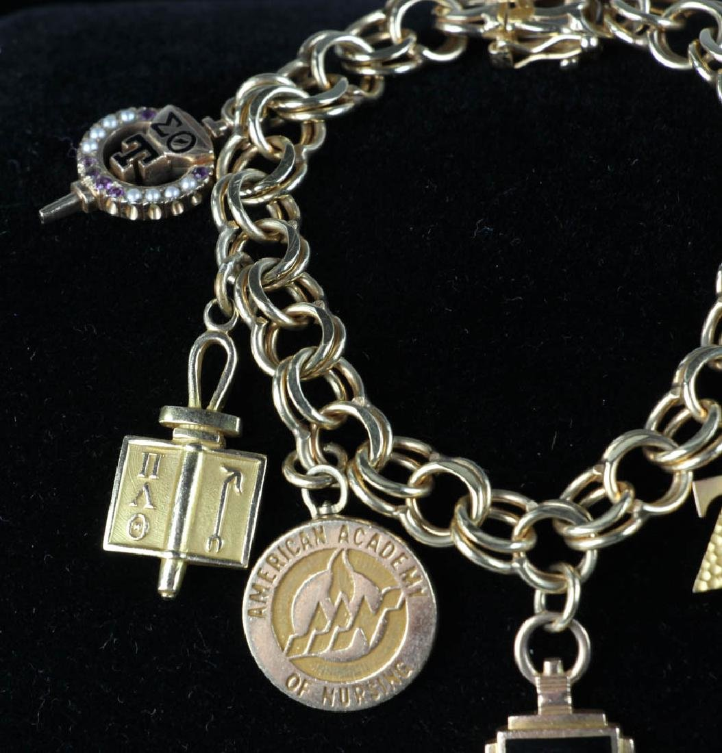 Collection of Yellow Gold Jewelry - 3