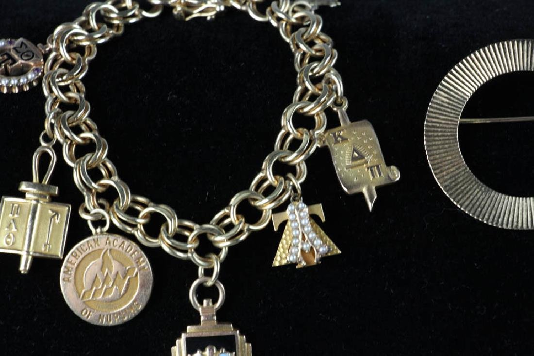 Collection of Yellow Gold Jewelry - 4