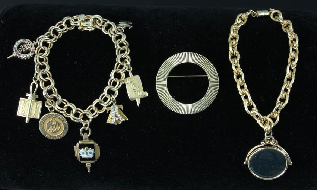 Collection of Yellow Gold Jewelry - 6