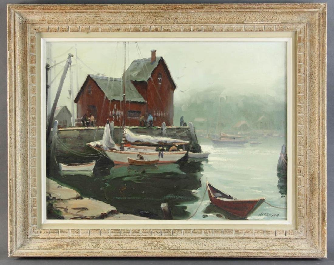 Edward Harrigan, Motif No 1, Oil on Canvas