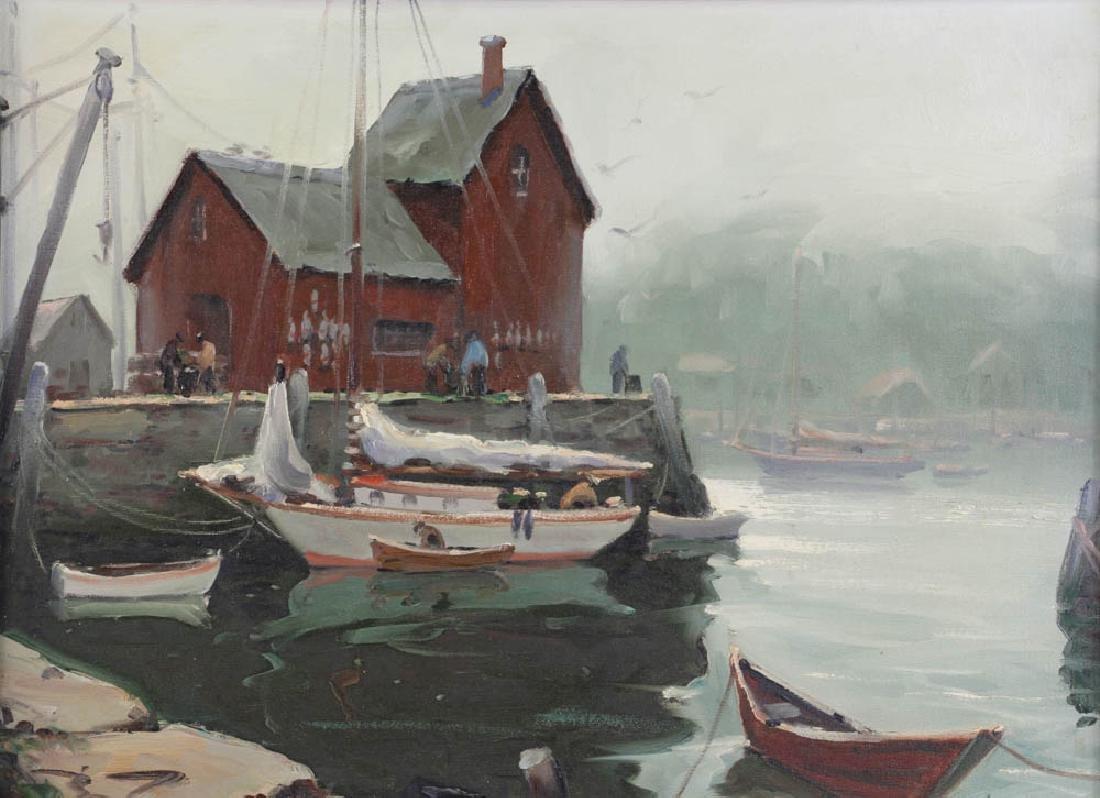 Edward Harrigan, Motif No 1, Oil on Canvas - 2
