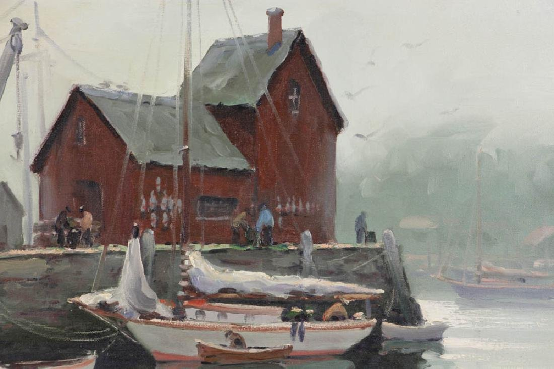 Edward Harrigan, Motif No 1, Oil on Canvas - 4