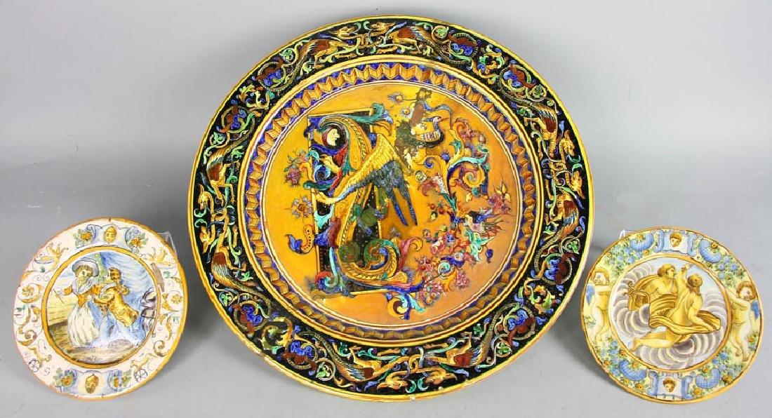 18th/19th Century Italian Glazed Charger