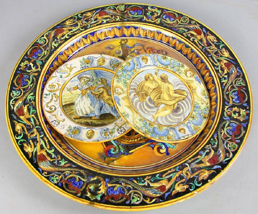 18th/19th Century Italian Glazed Charger - 5