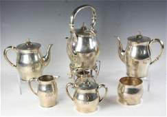 Sterling Tea Service, Bailey Banks & Biddle