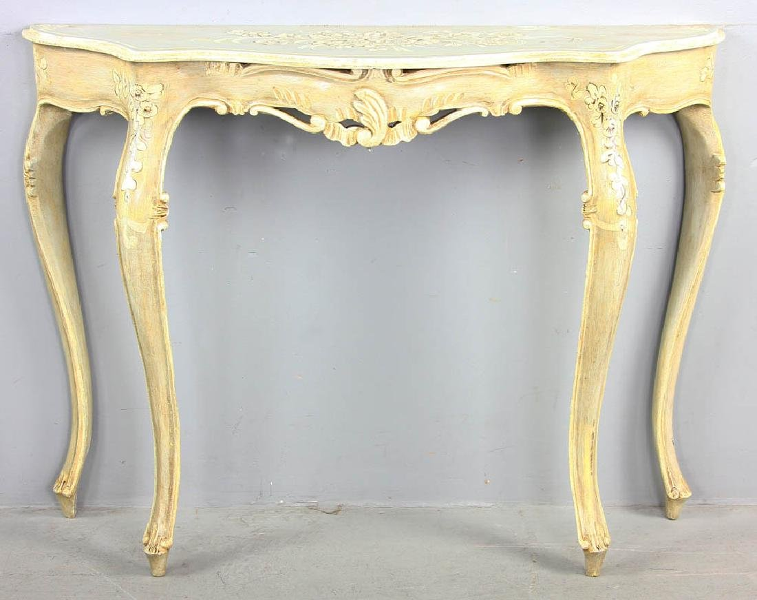 Paint Decorated Pier Table
