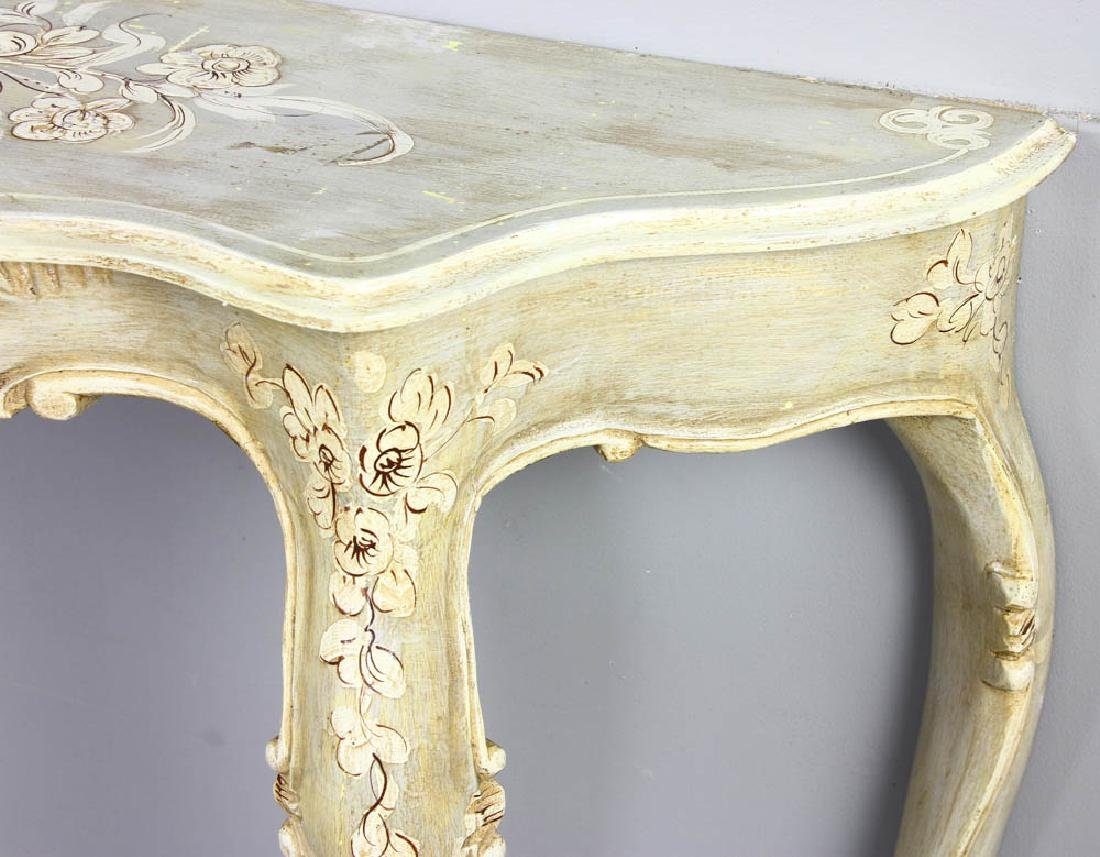 Paint Decorated Pier Table - 6