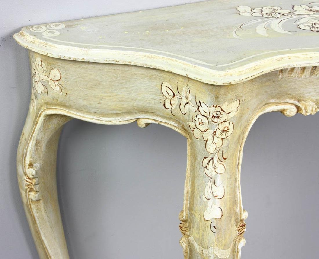 Paint Decorated Pier Table - 7