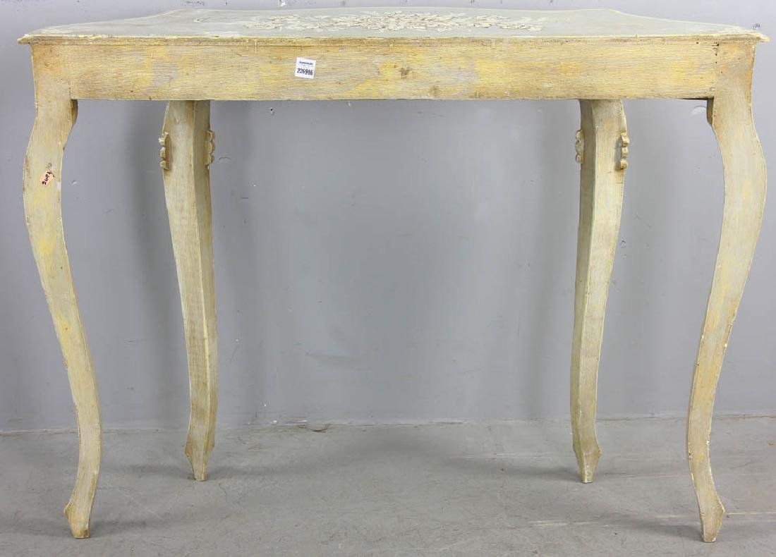 Paint Decorated Pier Table - 8