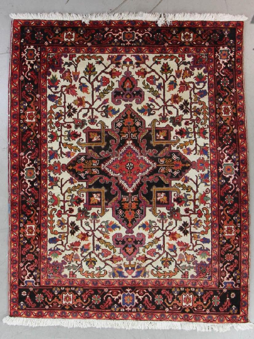 Semi Antique Persian Heriz Rug