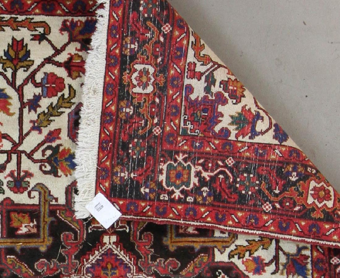Semi Antique Persian Heriz Rug - 5