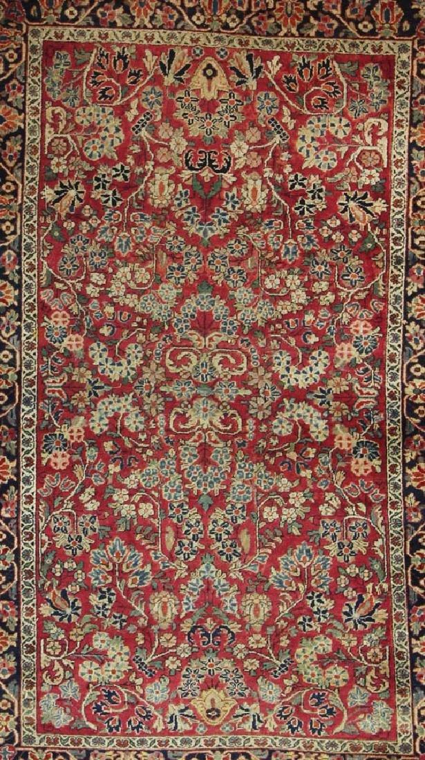 Antique Persian Sarouk Rug - 2