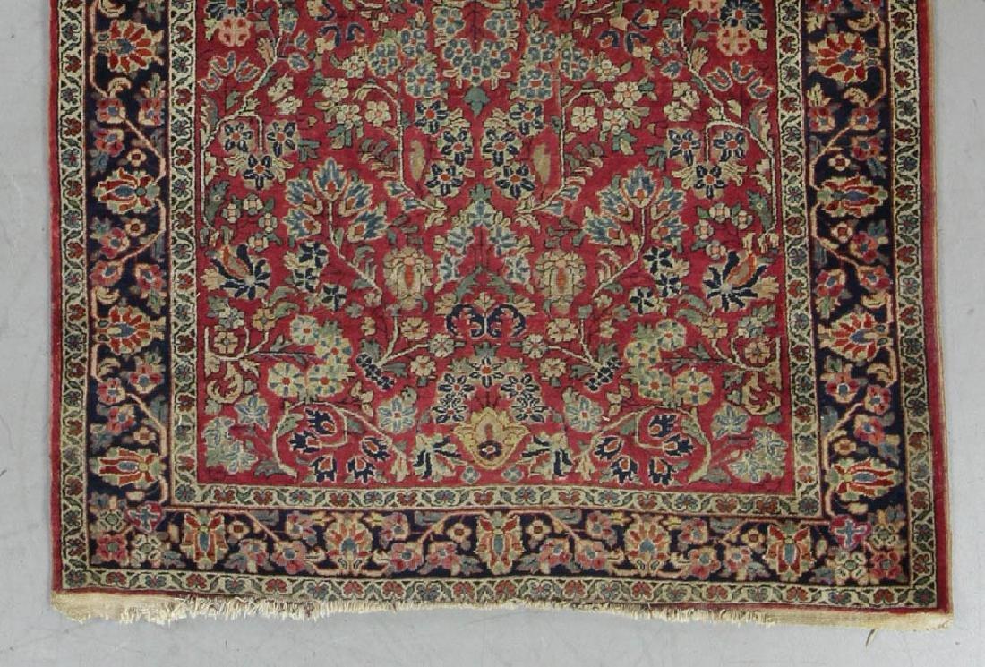 Antique Persian Sarouk Rug - 4