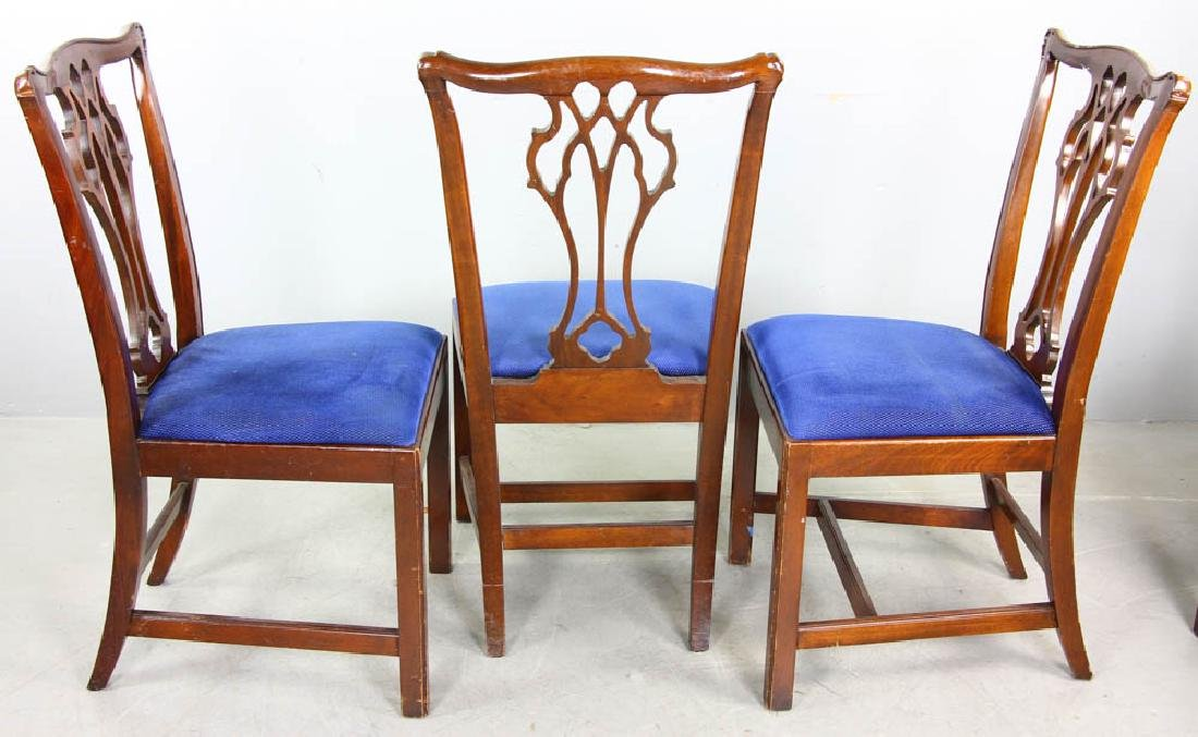 Set of Mahogany Dining Chairs - 3