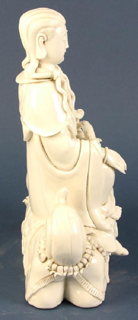 Chinese Blanc-de-Chine Figure - 4