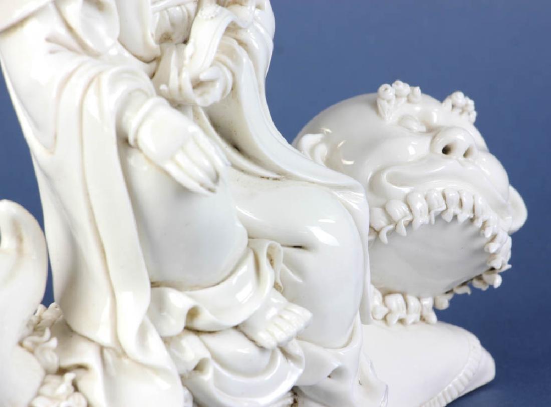 Chinese Blanc-de-Chine Figure - 6