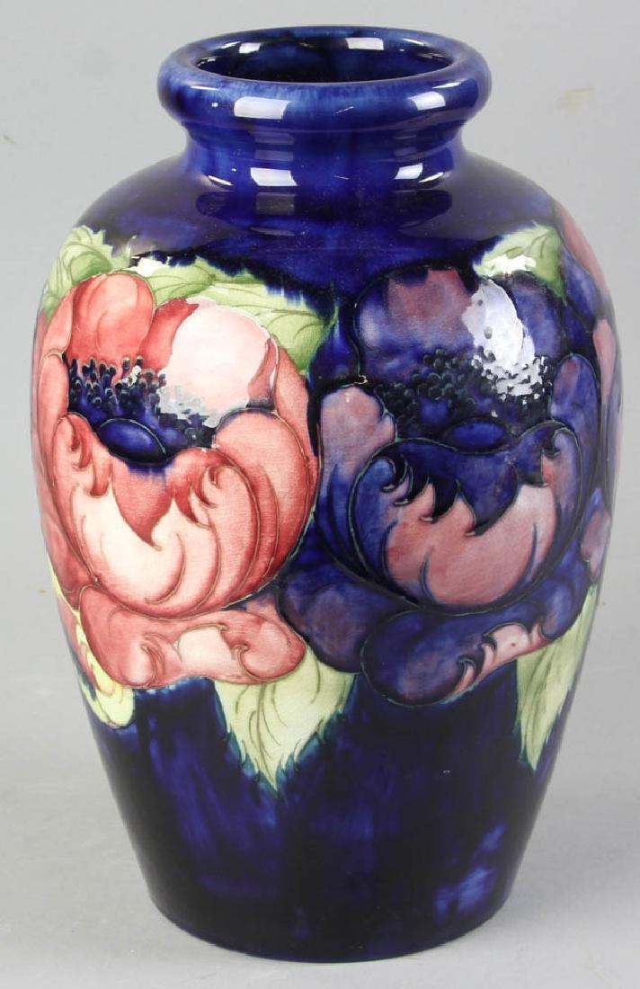Large Moorcroft Art Pottery Poppy Vase - 3