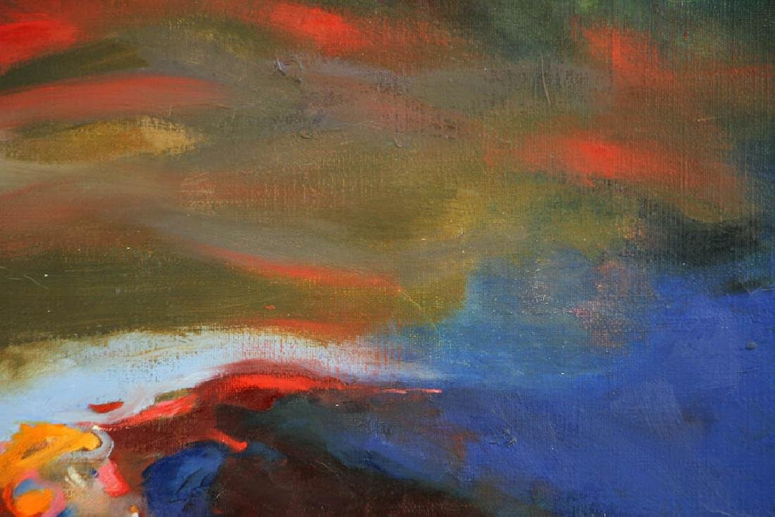 Howard Schafer, Abstract Oil on Canvas - 2