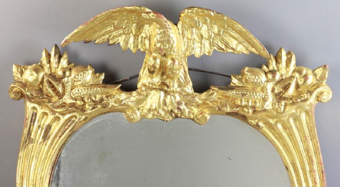 Late 19thC Federal Style Eagle Motif Mirror - 2