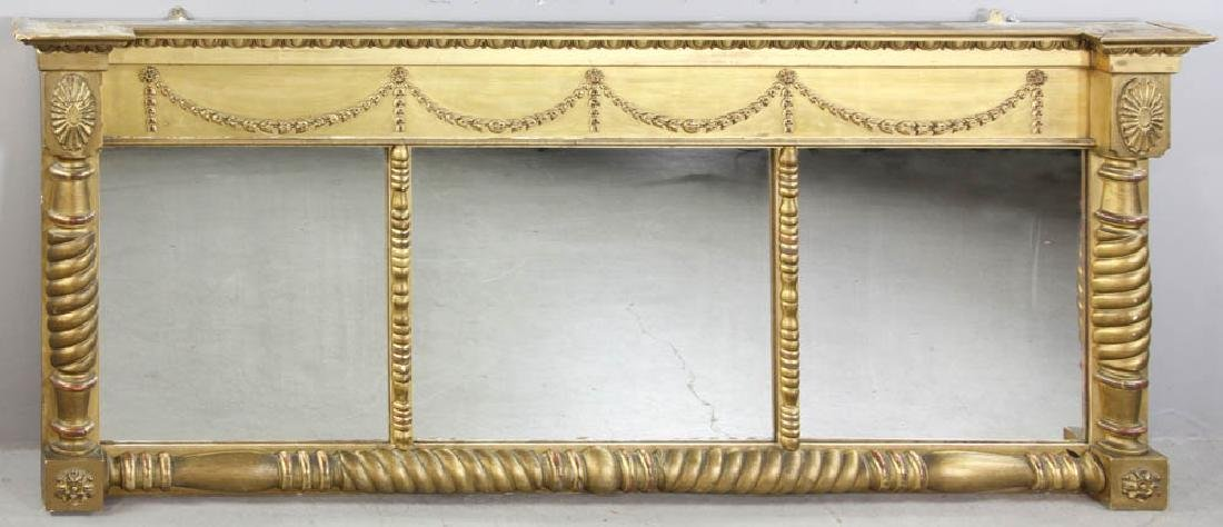Federal Over Mantel Mirror